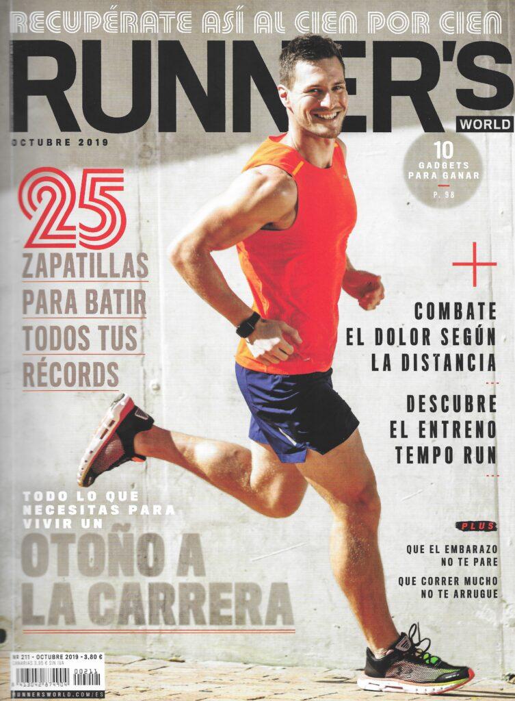portada Revista Runner´s Octubre 2019